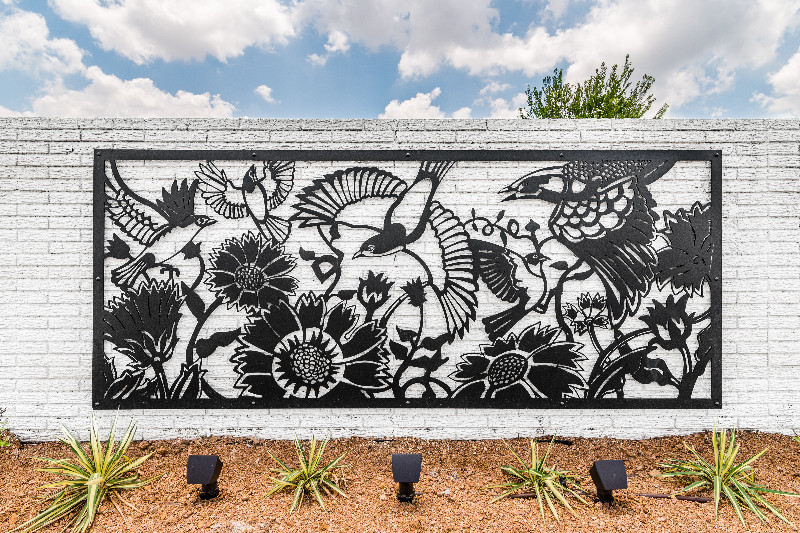 Town North Village Art and Landscape Installation