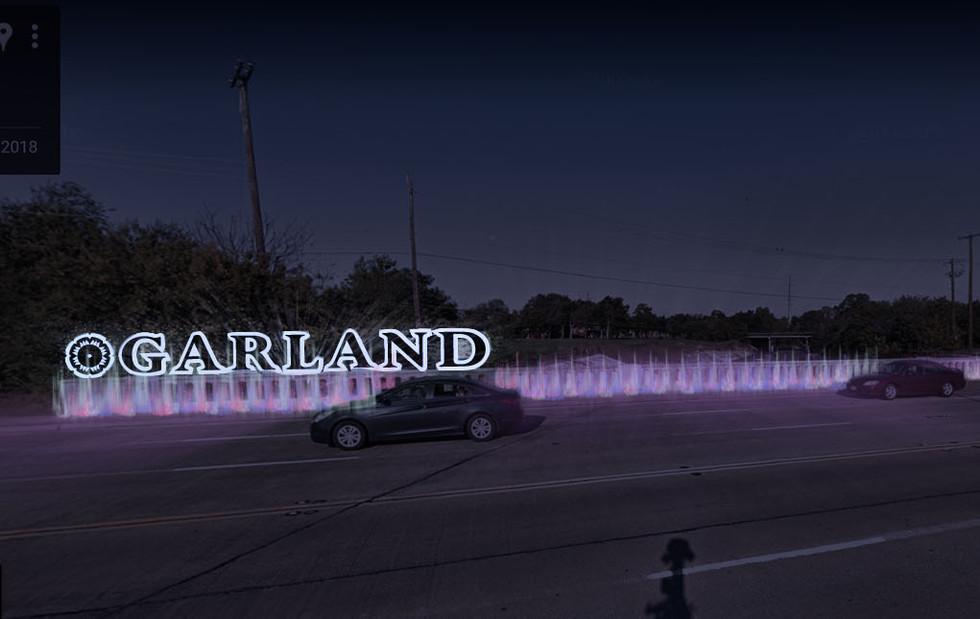 South Garland Avenue Bridge Lighting