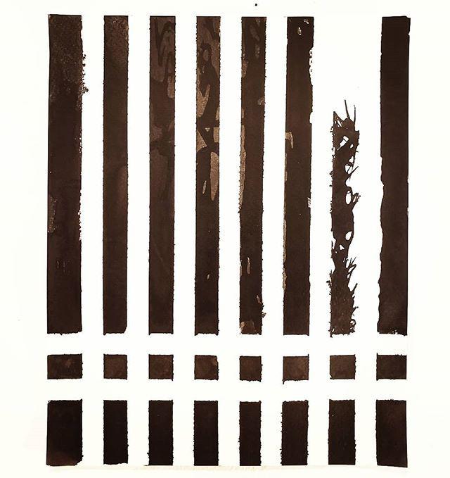 New work #minimalistart #modernart #line