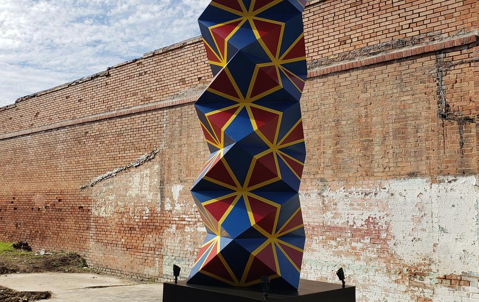 Garland's First Modern Public Artwork