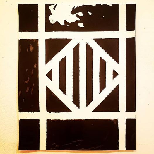 New work #modernart #phillyart #minimali