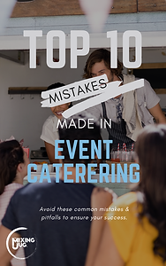 Top 10 Mistakes Made in Event Catering eBook