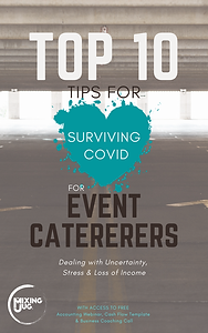 Top 10 Tips for Surviving COVID for Event Caterers eBook