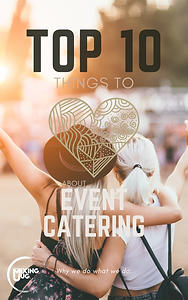 Top 10 things to Lvoe about Event Catering eBook