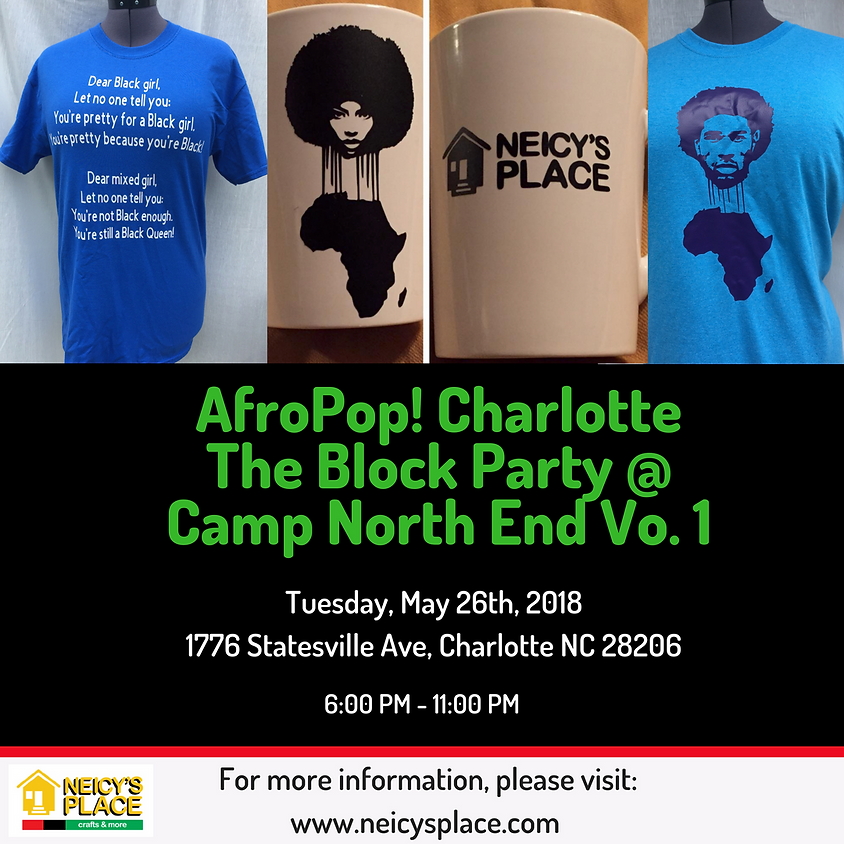 AfroPop! Charlotte: The Block Party Vo. 1