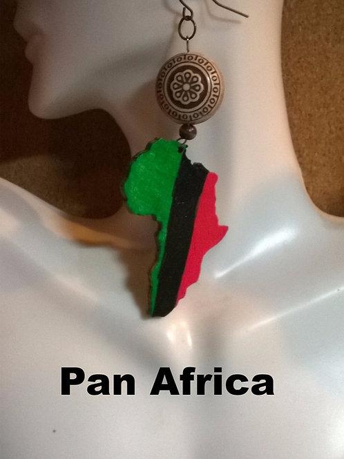 Pan Africa Drop Earrings