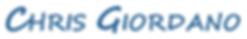Chris Giordano's Logo