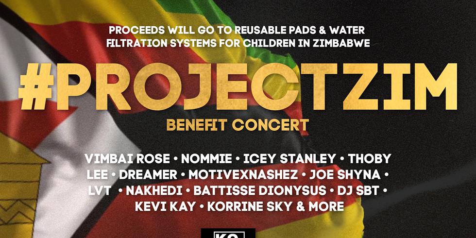 #PROJECTZIM Benefit Concert
