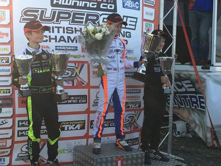 Super One British Honda Cadet Championship Round 10 - Shenington