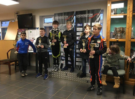 Super One test meeting at Shenington Kart Club