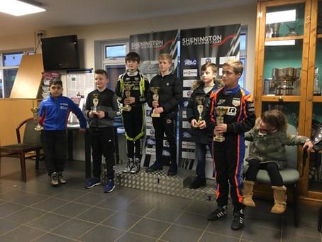 Super One test meeting at Shenington Kart Club