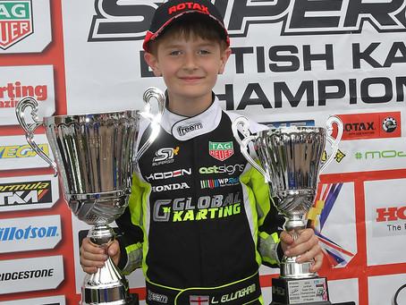 Super One British Honda Cadet Championship - Larkhall