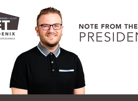 Note from the President