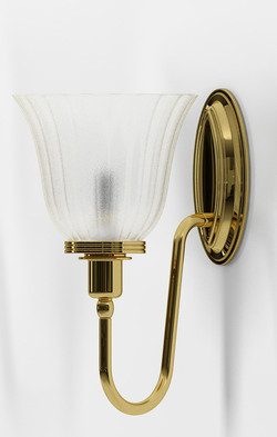 3 Bathroom Blake1 Polished Brass