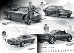 Календарь на 2017 год, 13 страниц