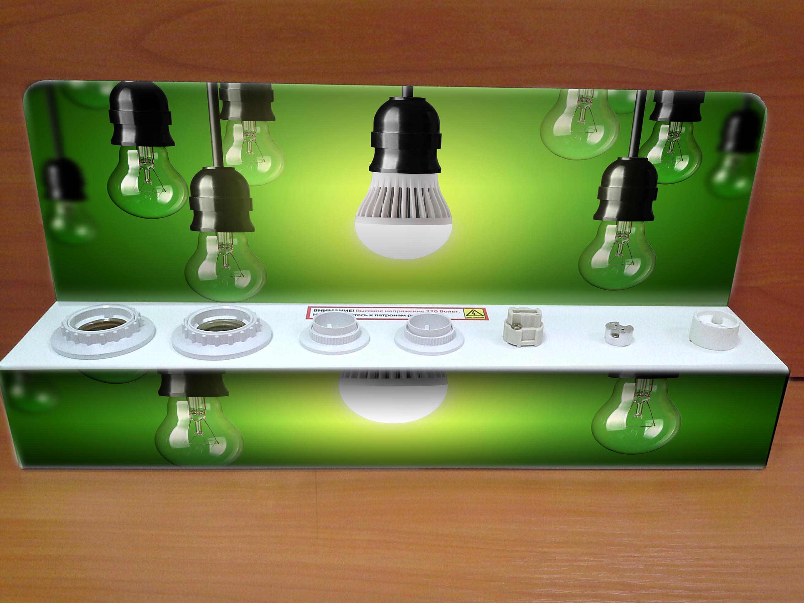 тестер для проверки ламп одноярусный