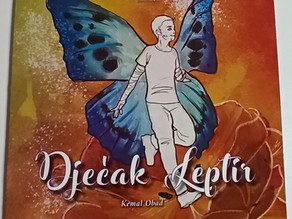 DEBRA Bosnia and Herzegovina launches picture book, Butterfly Boy
