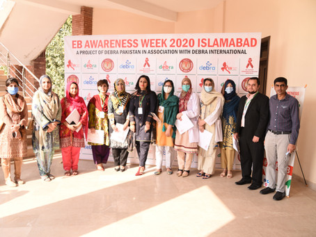 DEBRA International supports DEBRA Pakistan's first ever EB Awareness Week events