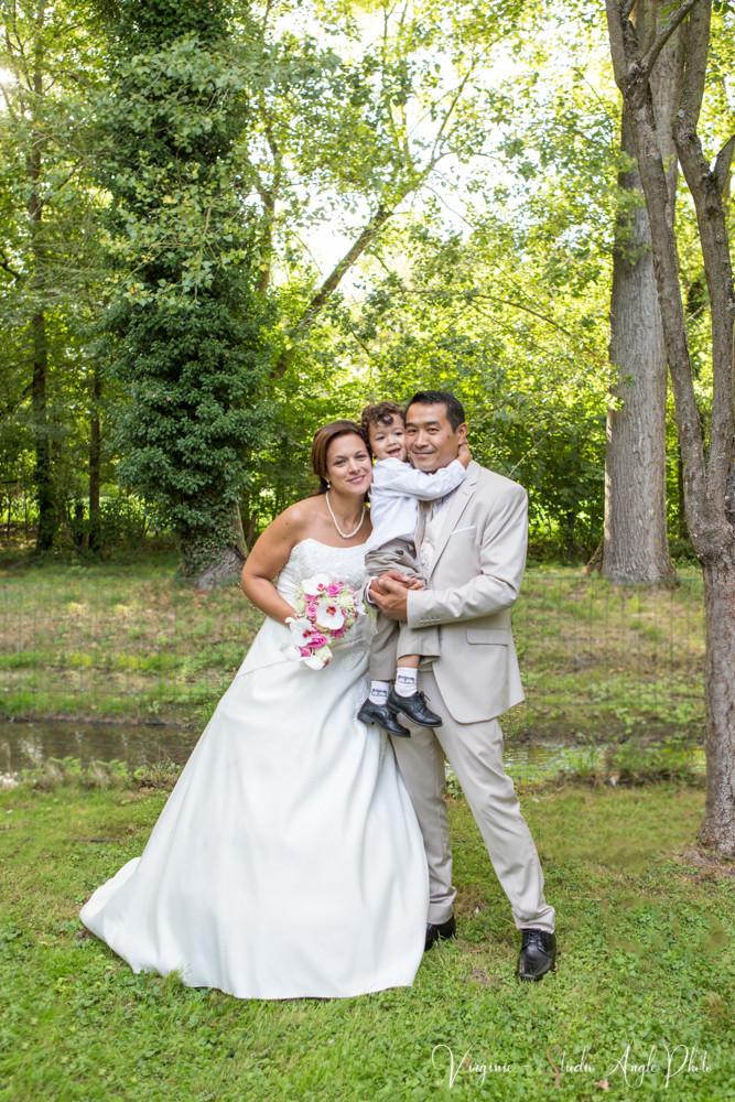 photo de famille au mariage