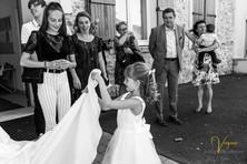 Un mariage à Péroy les Gombries en toute simplicité