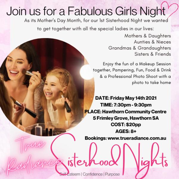 Sisterhood Nights: Girls Night!!