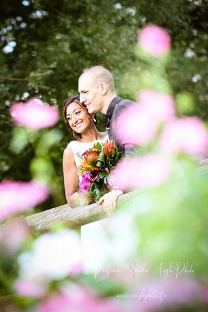 photo couple fleurs