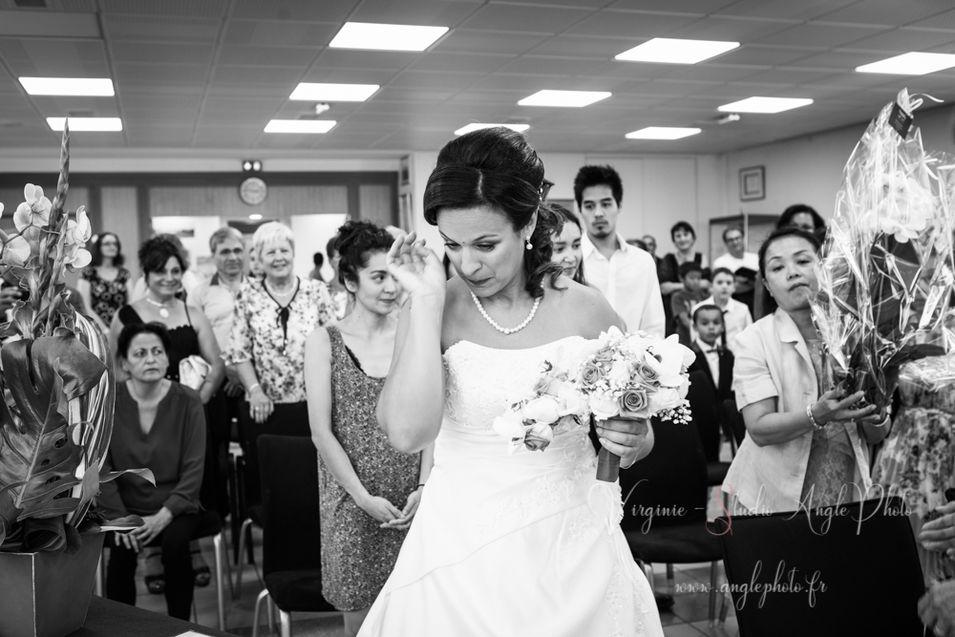 mariee en pleurs