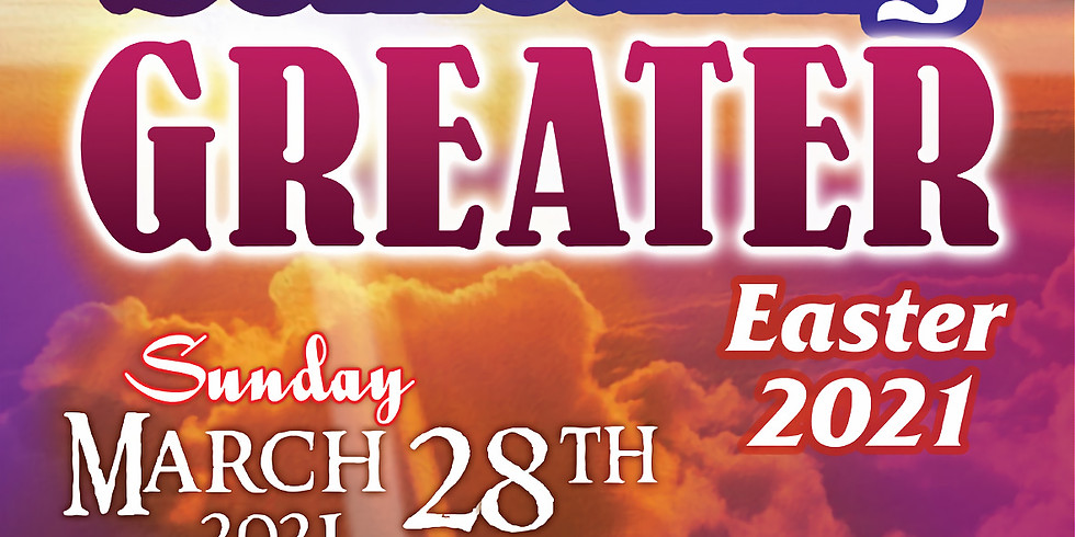 **SOLD OUT** Something Greater - A 21st Anniversary Easter Concert