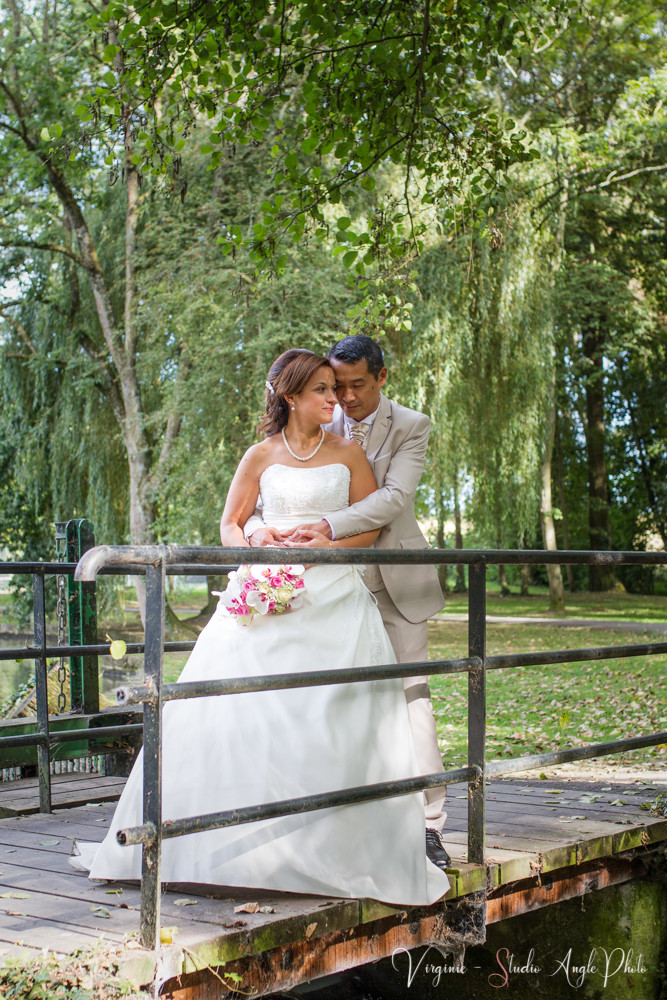 photo de couple au parc de gressy