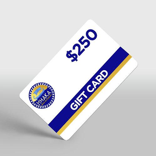 $250 Ithaka Greek Restaurant Gift Card