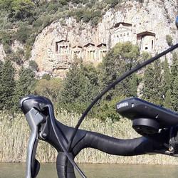 #yaşam #bisiklethayattır #like4like #instagood #kaunos #koycegiz #candir #kralmezarları