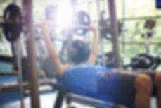 Vikter på gym