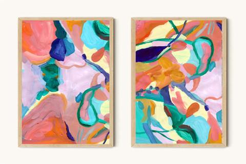 Flowers Study 6, Duo