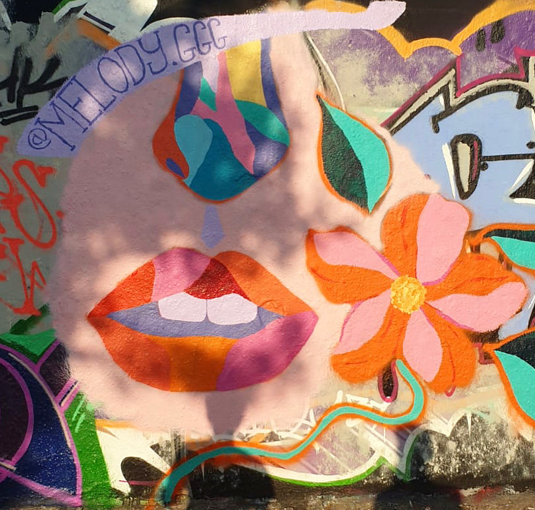 Mural on the Berlin Wall, Mauerpark
