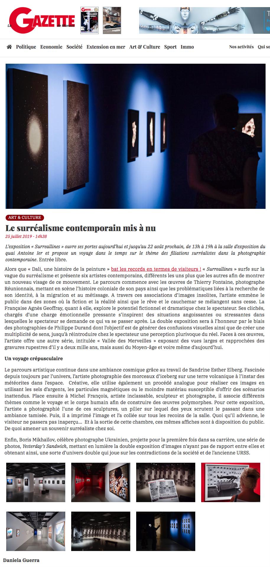 Gazette Monaco