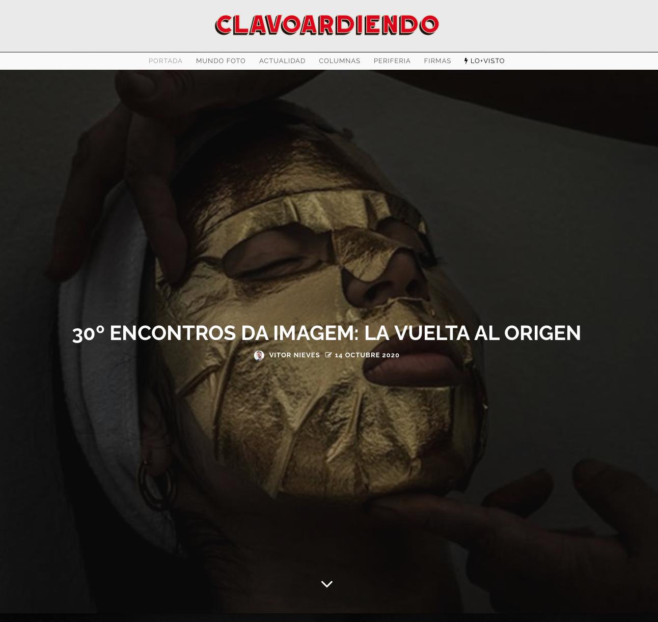 Clavoardiendo magazine 10/2020