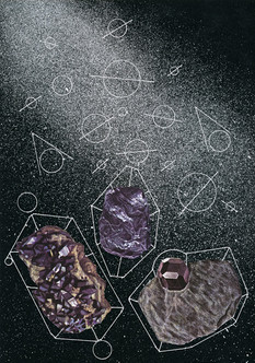Orbital collection of minerals