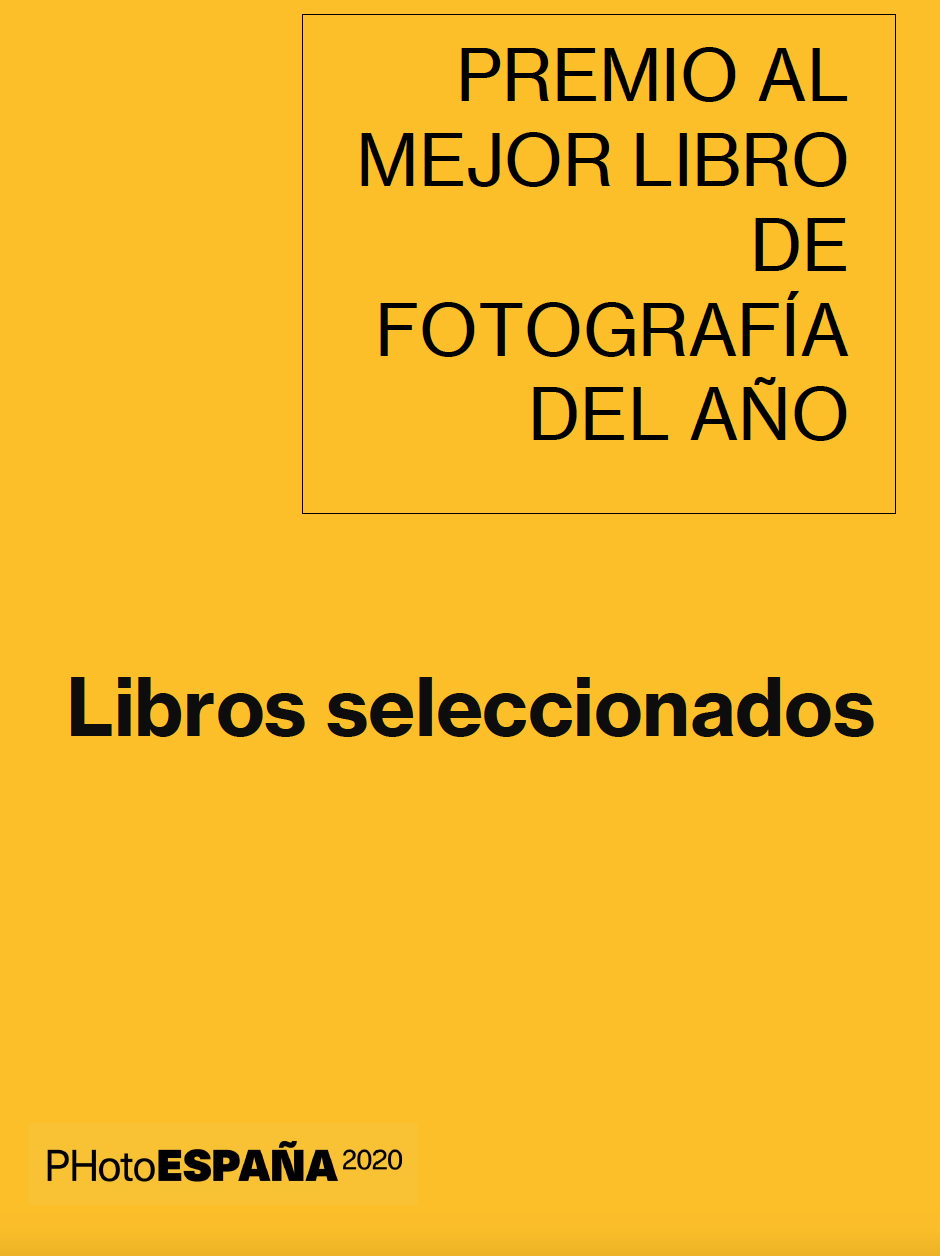 Best Photography Book Award PHotoEspaña 2020