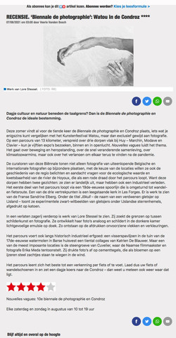 Journal De Standaard 07/08/21