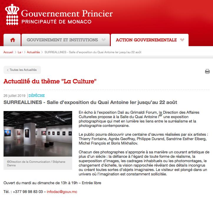 Gouvernement Princier