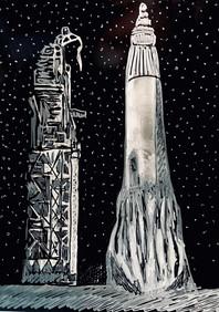 Projet Apollo, rocket