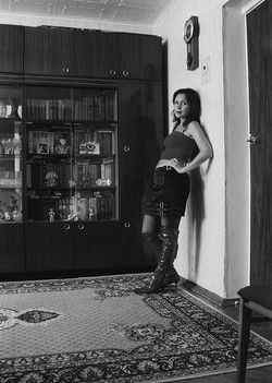 Portraits de femmes dans les appartements Moscovites