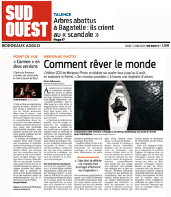 Journal Sud Ouest 03/06/21