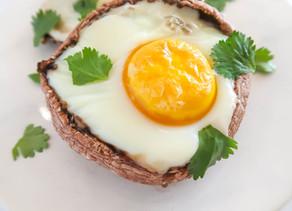 Portobello Mushroom Baked Eggs