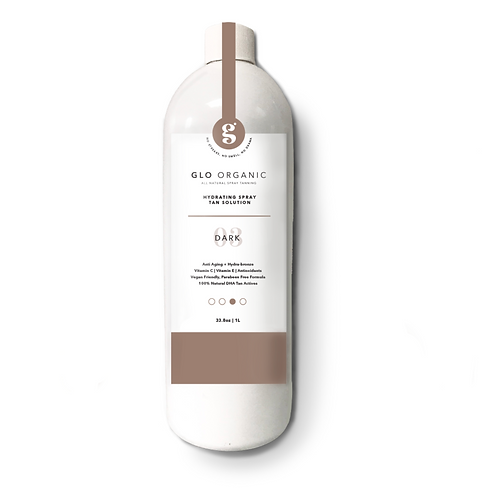 "Glo Organic Tanning Solution: ""THE DARK"""