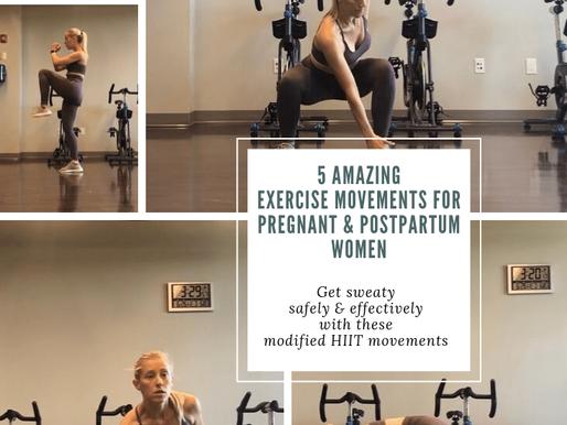 Pregnancy/Postpartum Workout Modifications