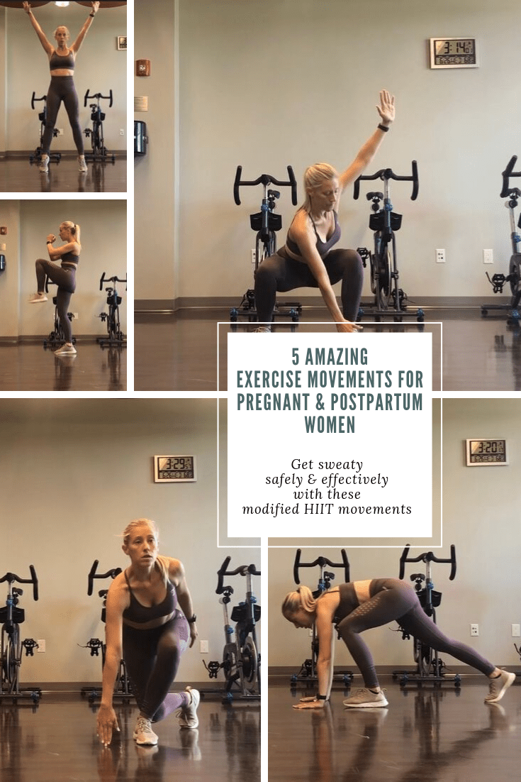 5 Amazing Exercise Movements For Pregnant & Postpartum Women Banner