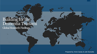 Building For The Dimentia Tsunami Graphic