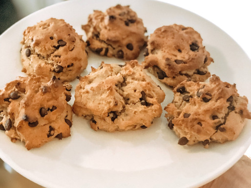 Healthy, Delicious Chocolate Chip Cookies