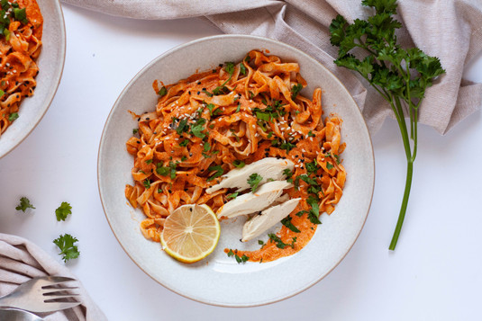 Nutritious Red Curry Noodles